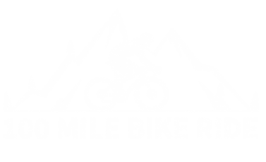 100 Mile Bike Ride Logo
